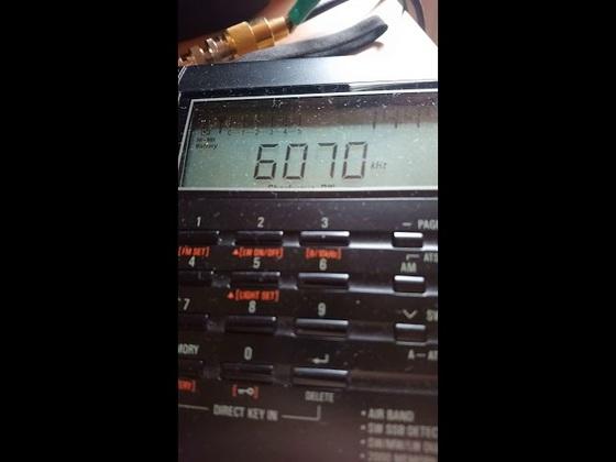 Radio PowerRumpel 6070 KHz